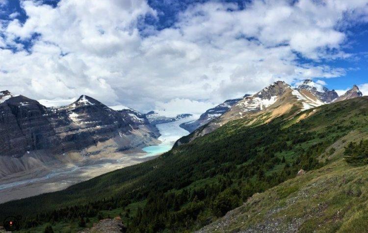 Parker Ridge Saskatchewan Glacier