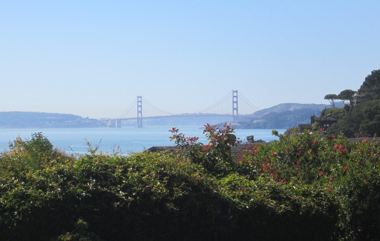 Golden Gate from Tiburon