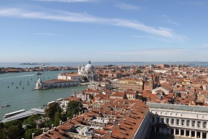 View from the Bell Tower in Venice
