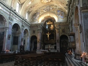 Bergamo, Italy Church Interior