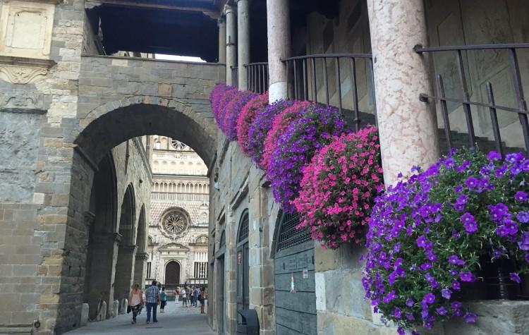 Bergamo, Italy Streets