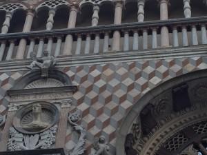 Bergamo, Italy Cappella Colleoni Trompe L'oeil