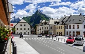 Quaint downtown Bovec