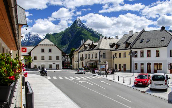Quaint downtown Bovec