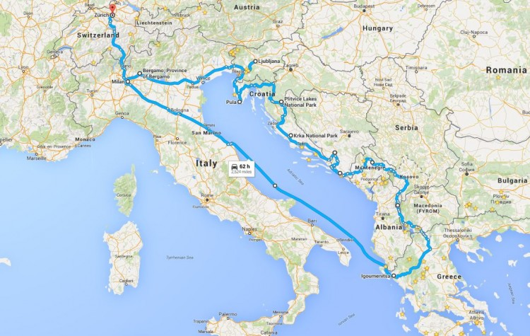 European Motorcycle Tour through the Balkans — TwoUpRiders