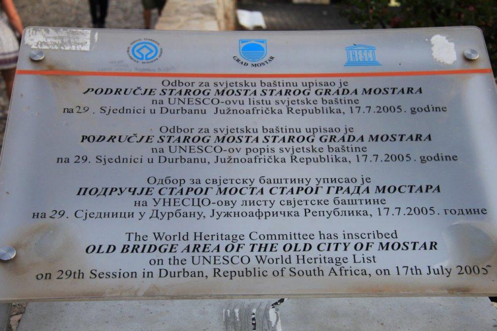 UNESCO Best of Mostar