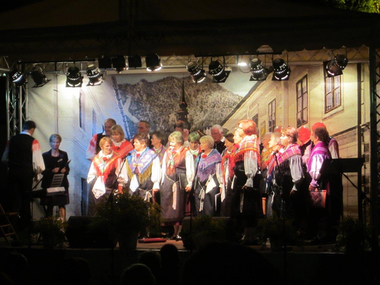 Kranjska Gora festival folk singers