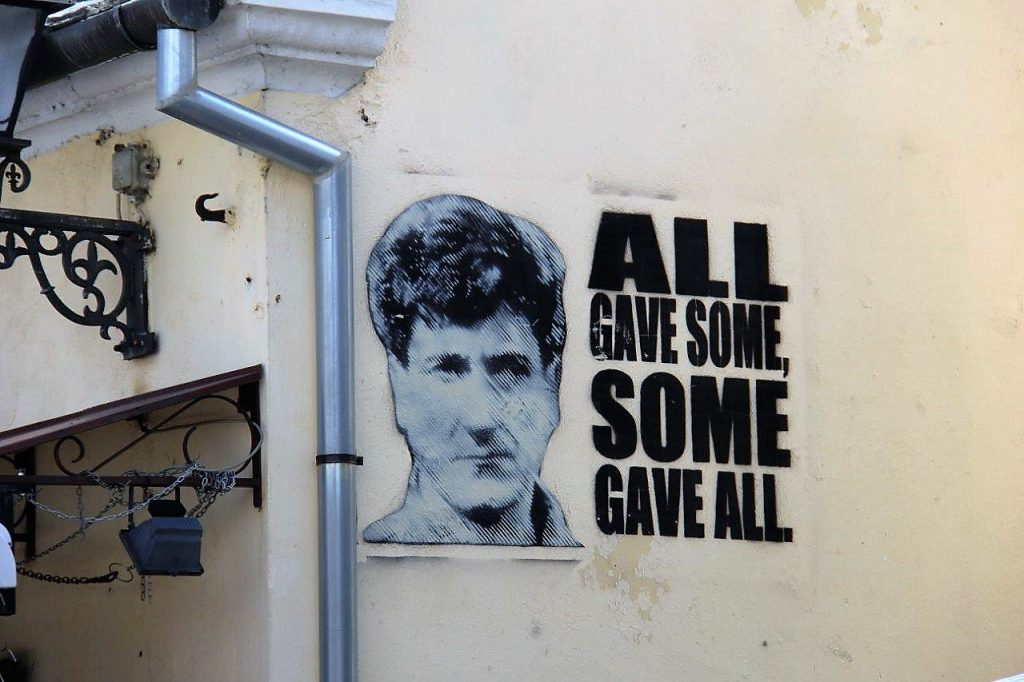 all gave some, some gave all Best of Mostar