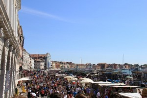 Calle Vallaresso in Venice