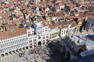 Piazza San Marco from Above