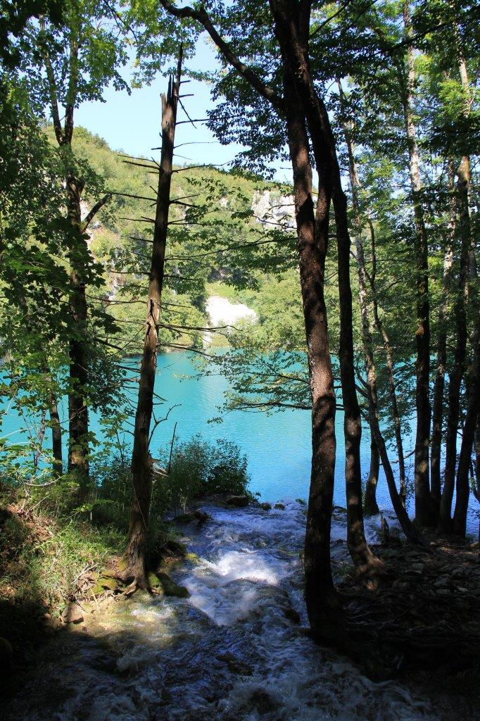 Views from the higher paths at Plitvice