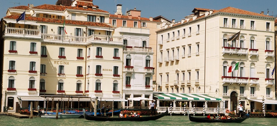 The Grand Canal Fronted SPG Hotel Europa