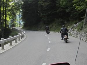 Soča Valley Road in Triglav NP