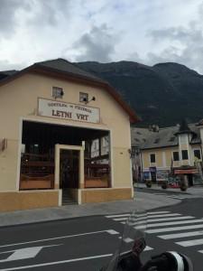 Bovec Slovenia Pizzeria Lenti Vrt