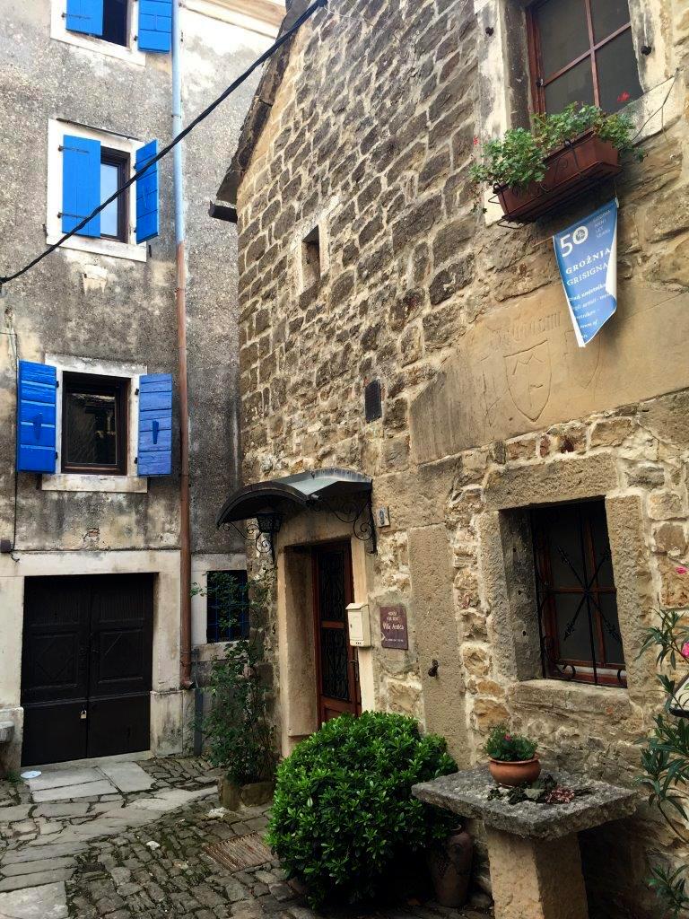 Groznjan on the Istrian Peninsula of Croatia