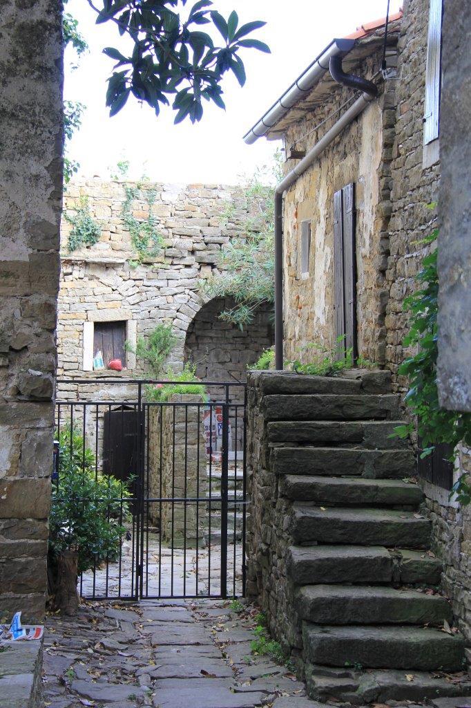Private courtyard in Groznjan