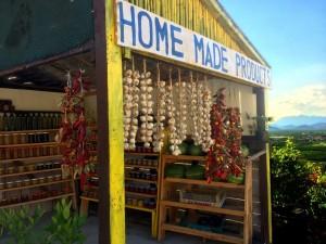 Road Side Farm Stand in Bosnia