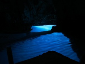 The Blue Grotto of Biševo