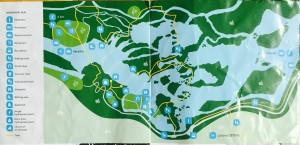 Krka National Park Map