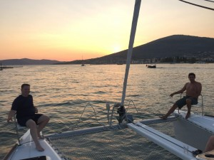 The Boys Sailing the Adriatic - destination Solta Croatia