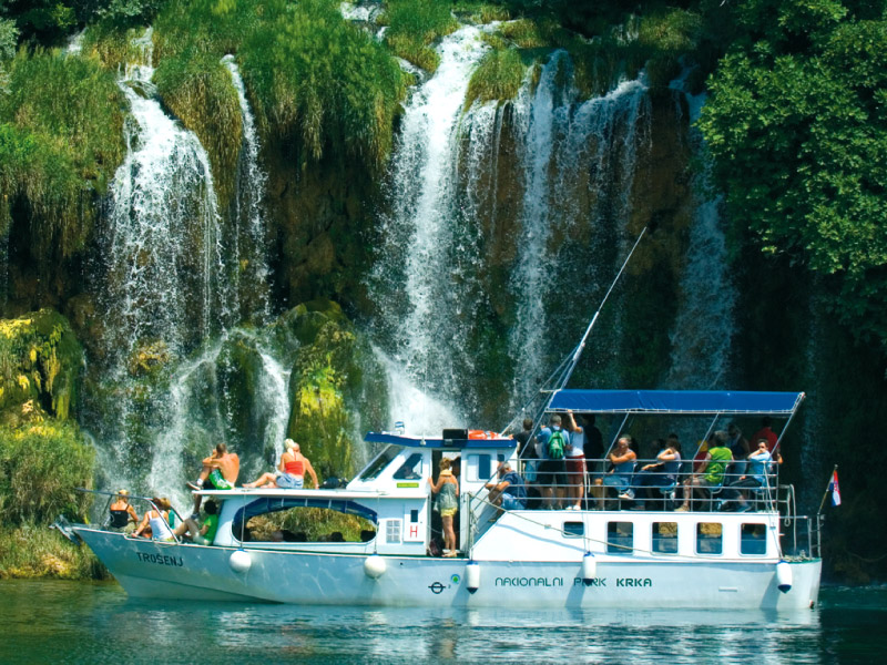 Boat Excursion at Krka