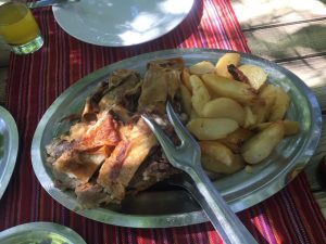 Lamb from the Spit Bosnian Food