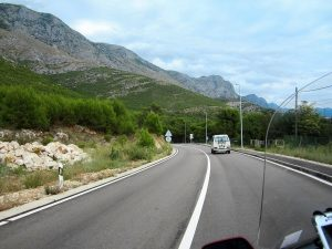 Croatian Road Dalmatian Coast