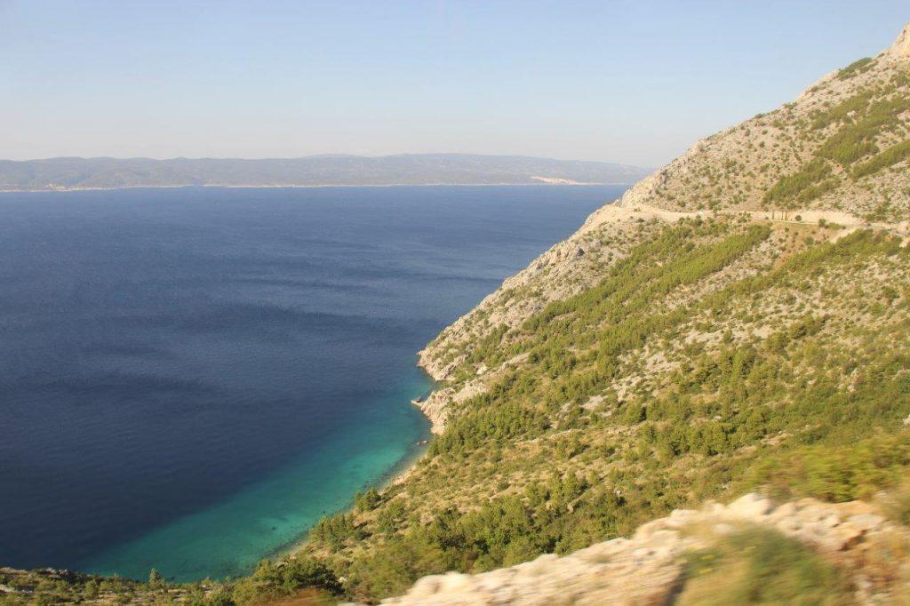 Turquoise water Croatia