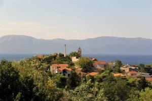 Croatian Seaside Village the Dalmatian Coast in Croatia