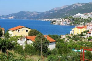 Dalmatian coast village the Dalmatian Coast in Croatia
