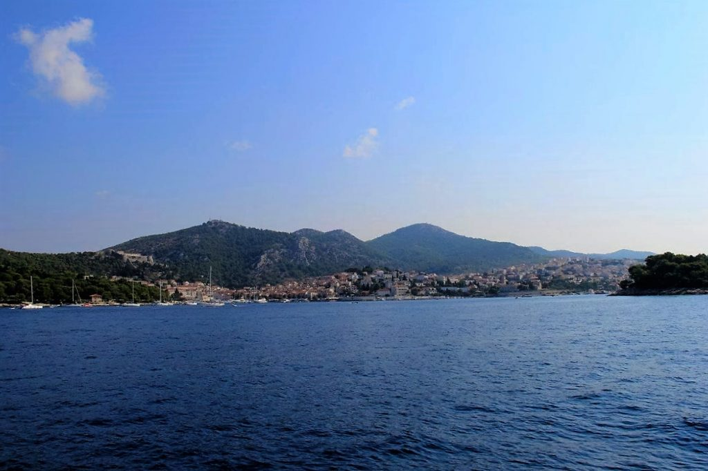 Hvar Island from Sea
