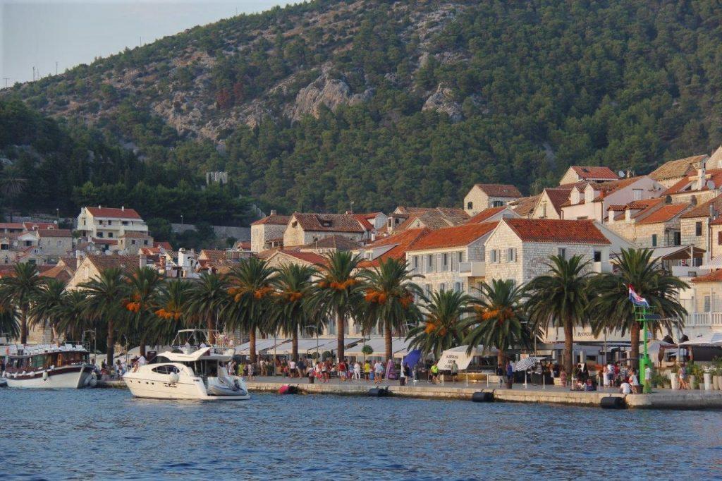 Hvar Croatia port Hvar Island