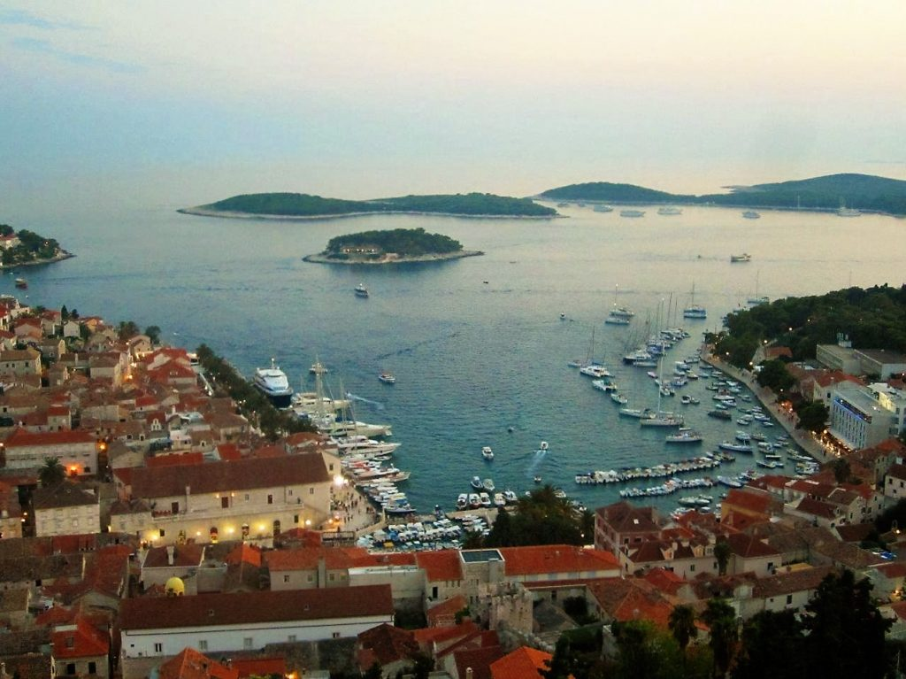 Port of Hvar Hvar Island Croatia