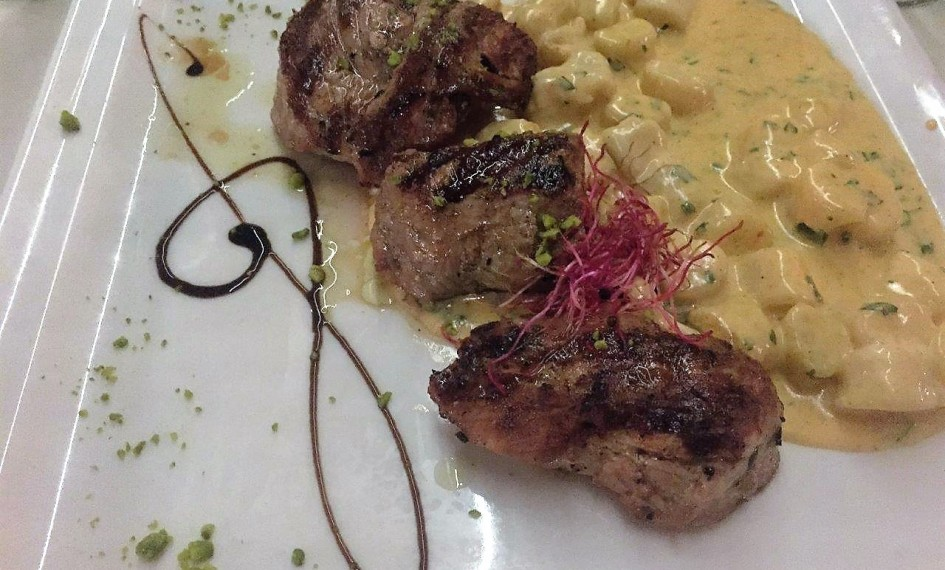 Perfect Pork Medallions and Gnocchi at Don Dinos in Trogir