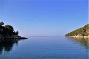 Secluded Bay near Brna Korcula Island
