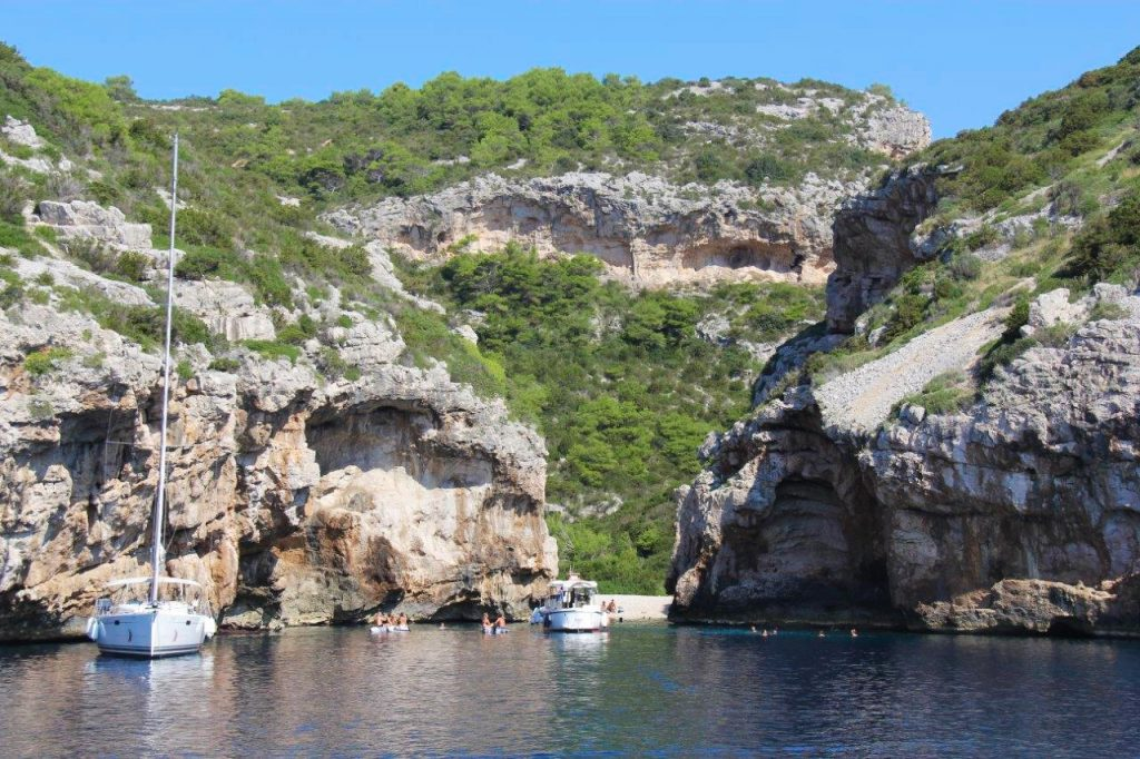 Stiniva Bay Vis Croatia