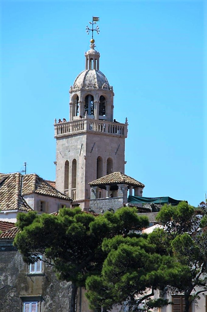 Korcula Croatia Bell Tower
