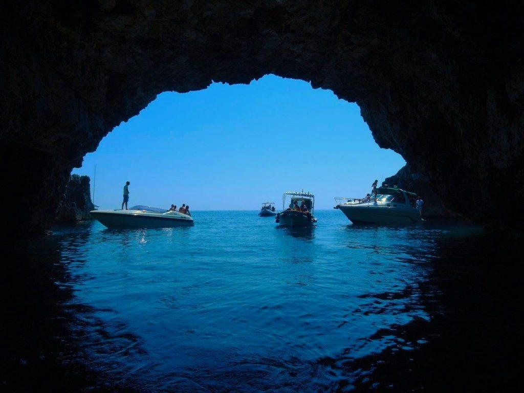 Vis Croatia Cave