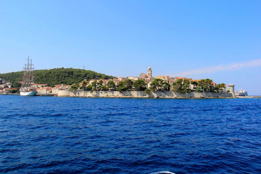 View of Korcula Old Town