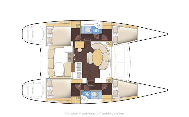 Layout of our boat.