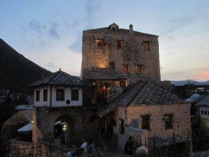 Rebuilt Mostar Buildings