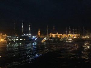 Trogir Old Town at Night