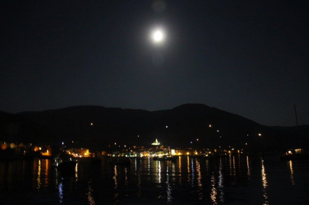 Komiza Bay at Night