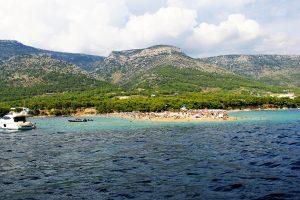 Zlatni Rat of Brac Island Croatia