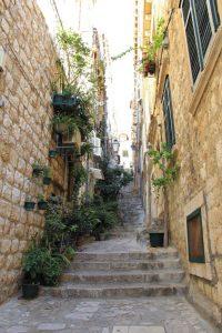 Dubrovnik cobbled side street
