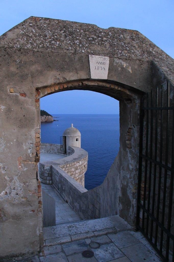 Dubrovnik look out tower Dubrovnik City Walls