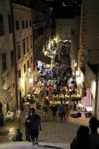One of the main streets of Dubrovnik