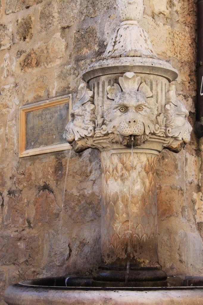 Fountain in Dubrovnik