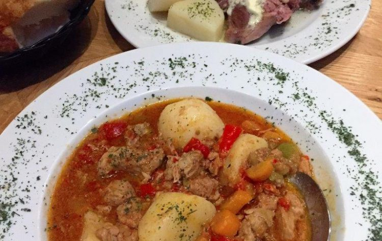 Beat-Meat stew and Lamb with Potatoes