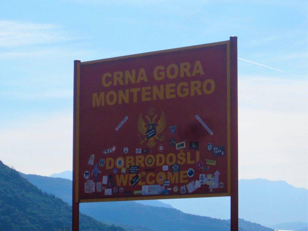 Montenegro Sign